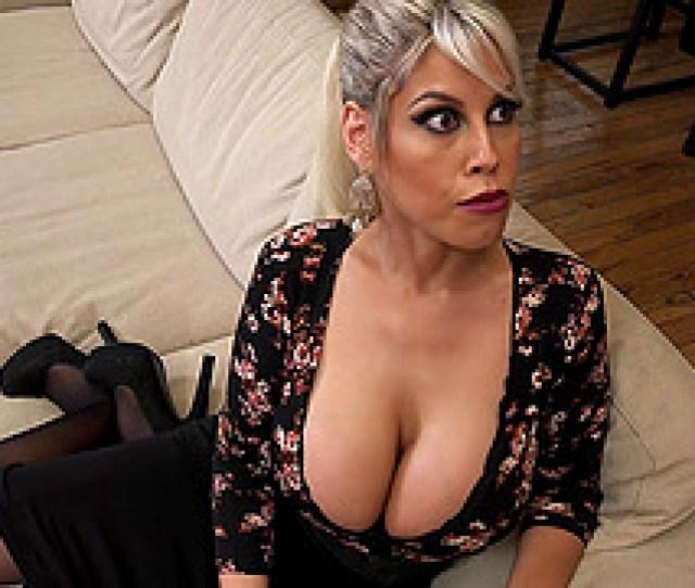 Babe In Black Stockings Bridgette B Cuckolding Her Husband Naughtily
