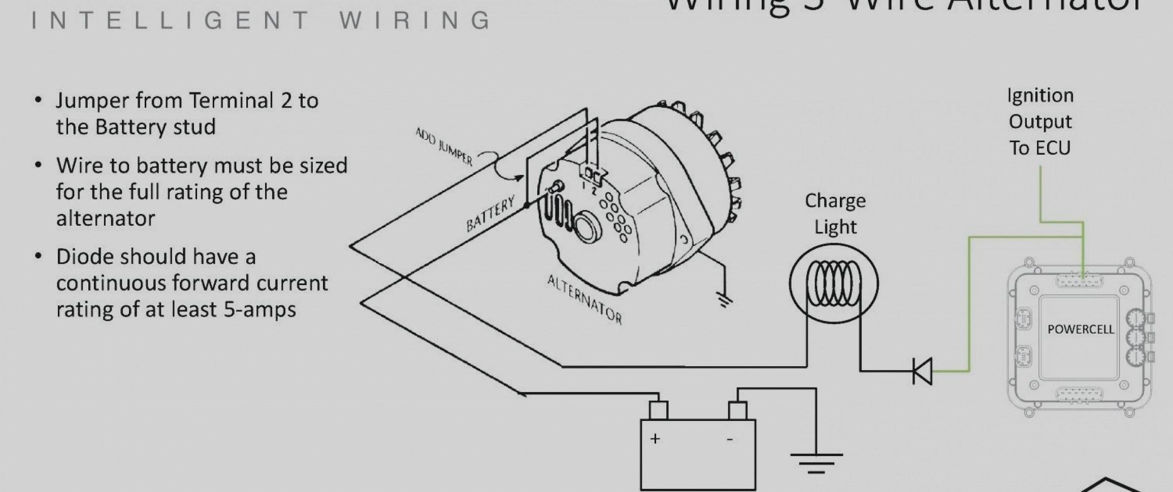 Basic Alternator Wiring Diagram