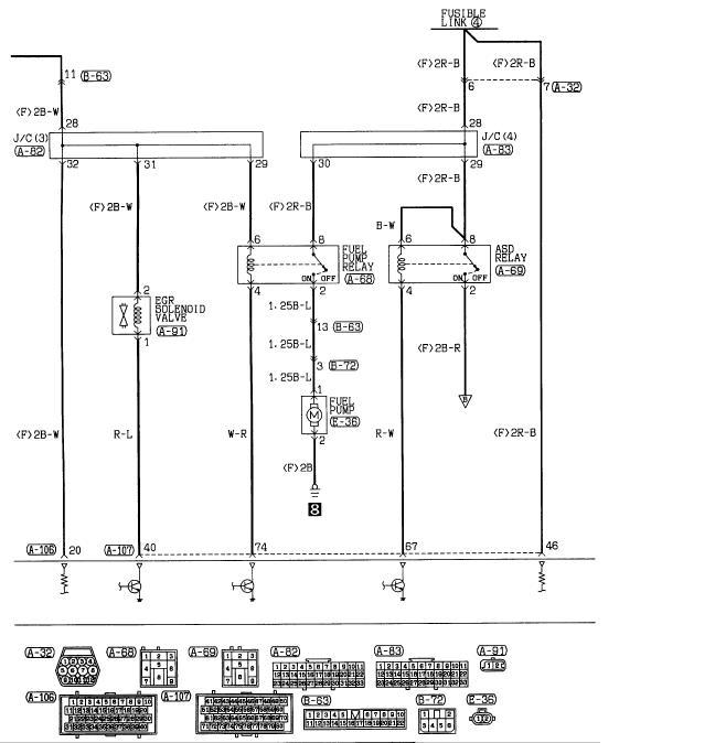 diagram engine wiring harness mitsubishi eclipse 2002