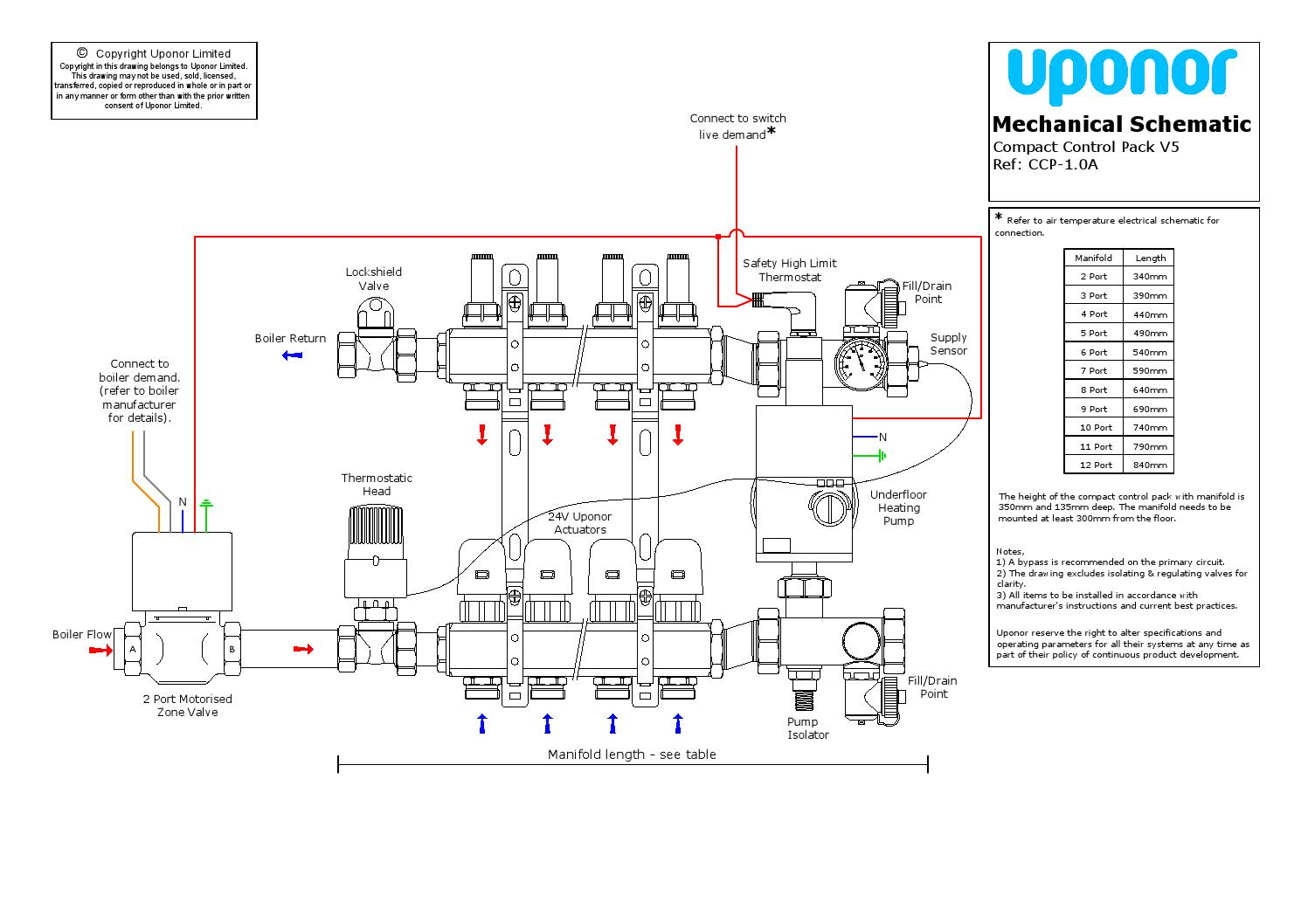 Myson Motorised Valve Wiring Diagram