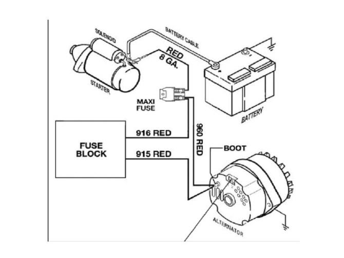 59 chevy 3 wire alternator wiring  description wiring