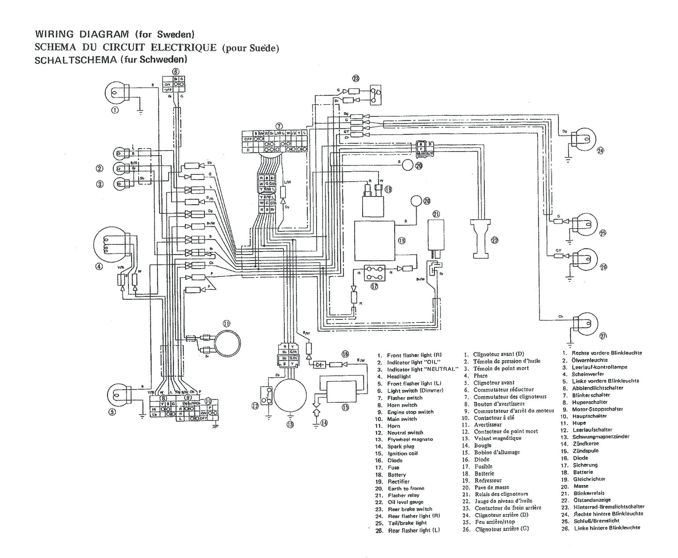 Wiring Diagram For Metrpolitan Scooter