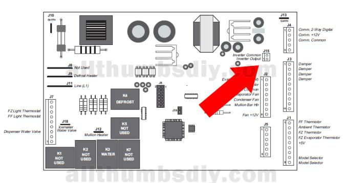 ge refrigerator control board wiring diagram  top wiring