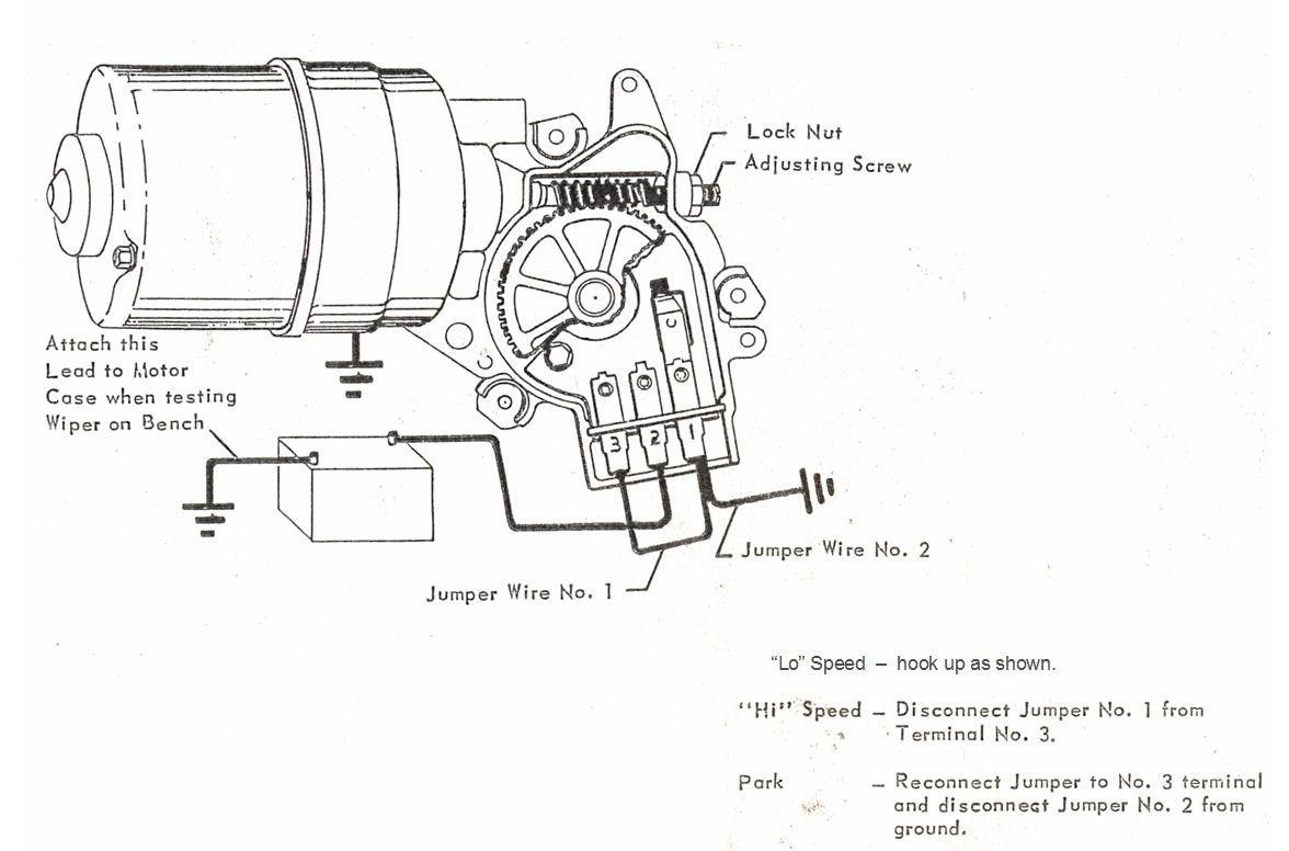 68 Mustang Wiper Motor Wiring Diagram