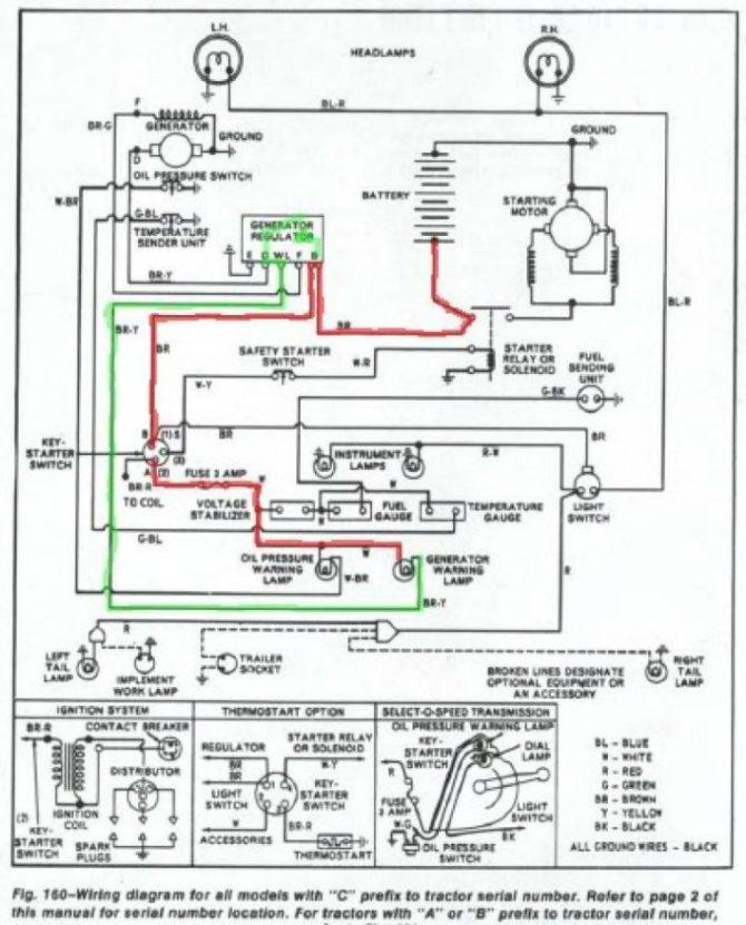 ford tractor f400 electrical wiring diagram  nema 6 20r
