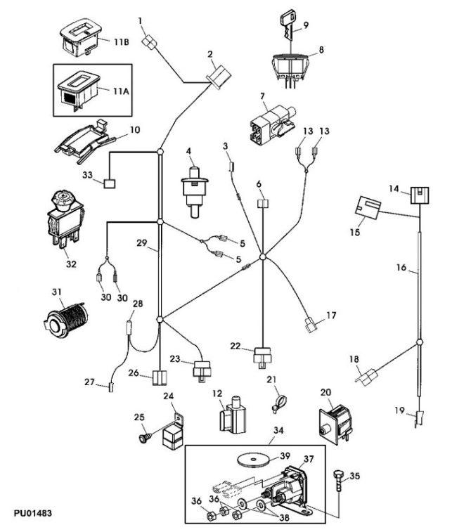 lg6562 diagram as well john deere 318 wiring diagram as