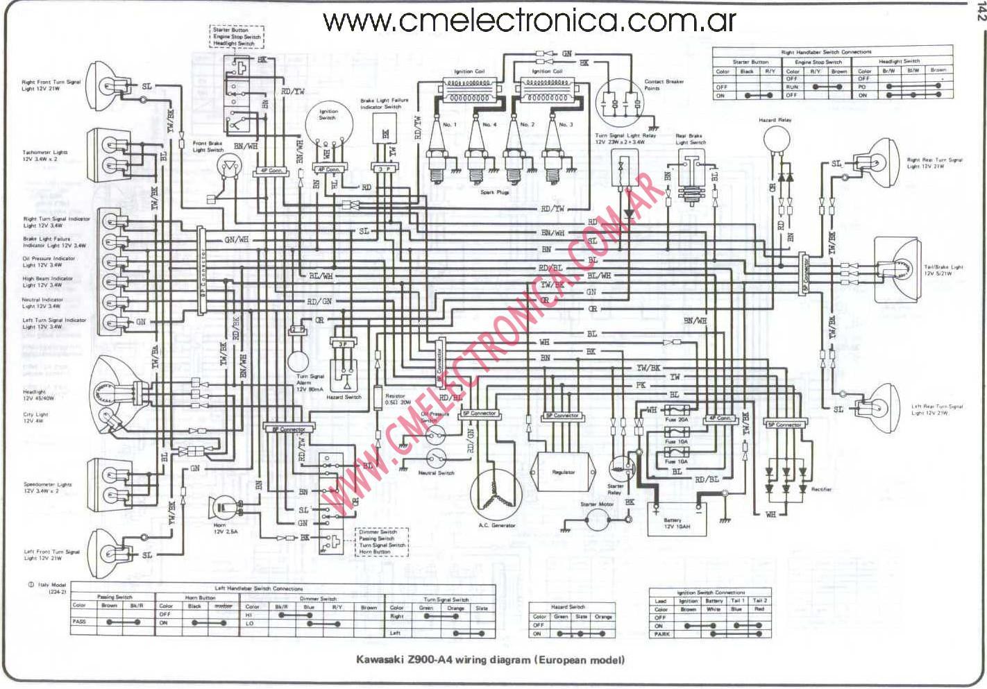 Kawasaki Vulcan 750 Wiring Diagram