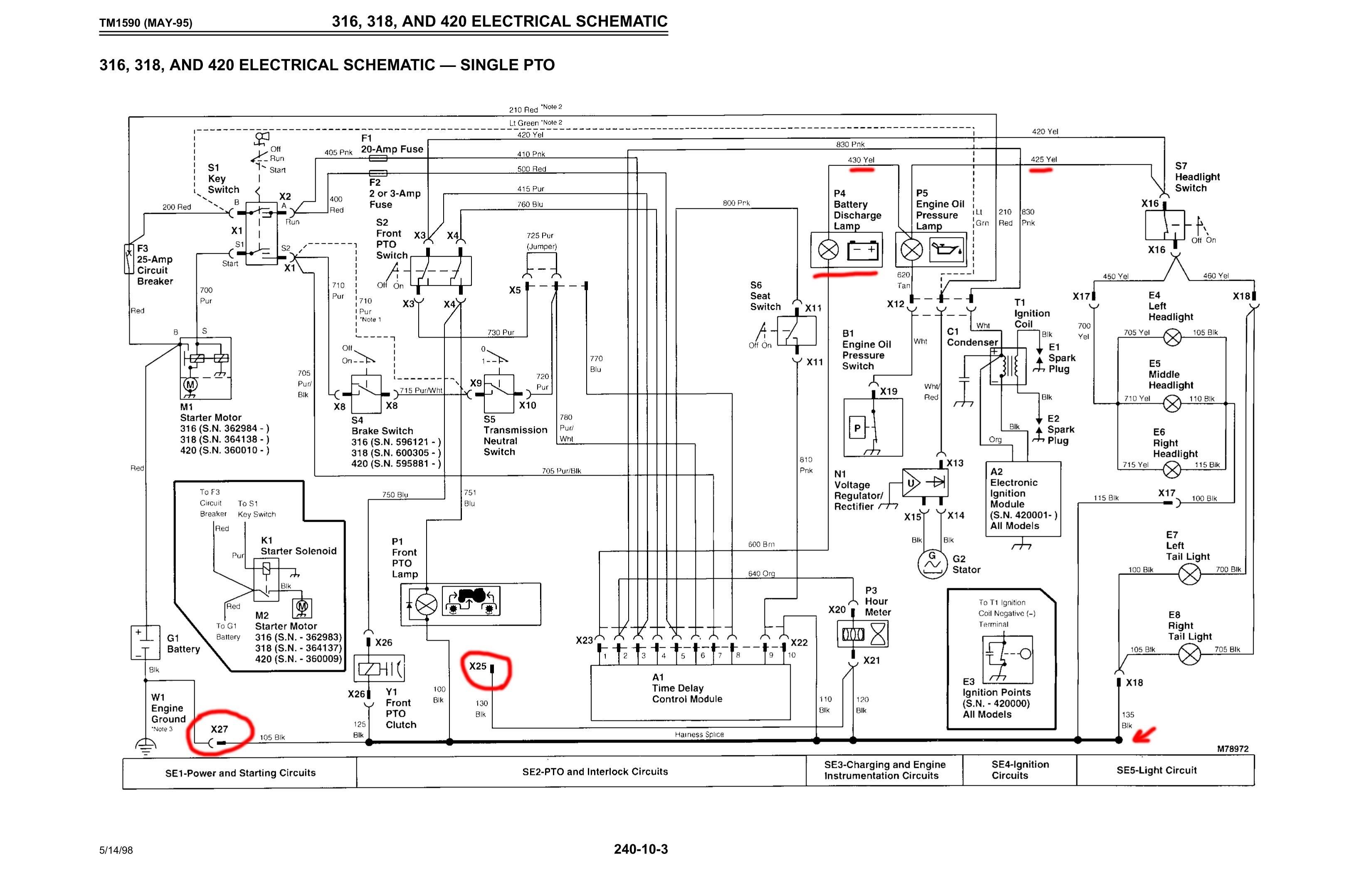 Wiring Diagram For John Deere Amt 600