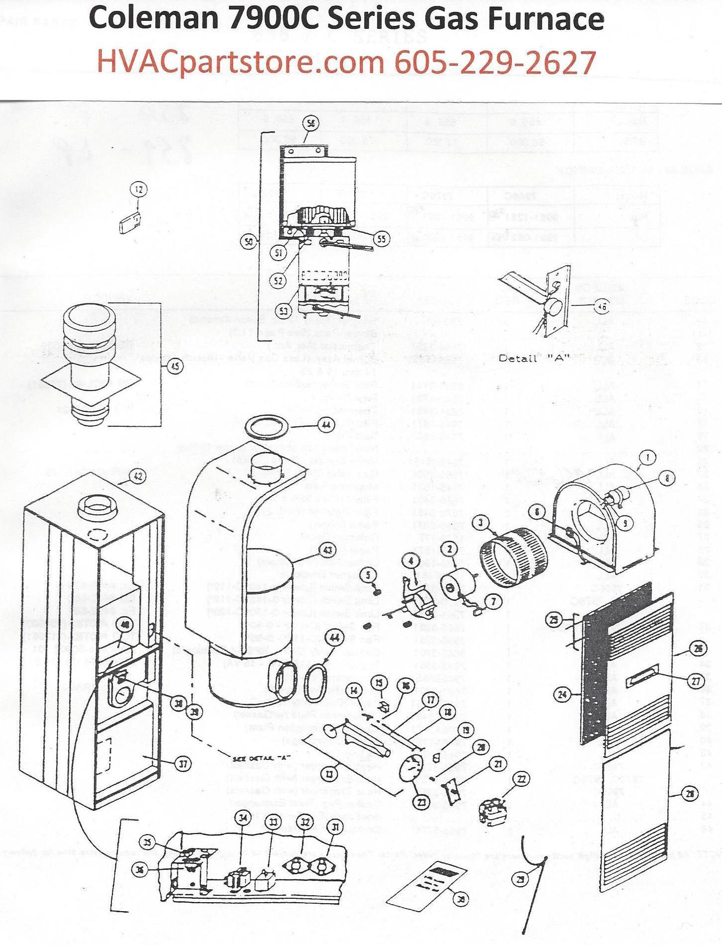 Na Furnace Wiring Diagram Moreover Coleman Gas