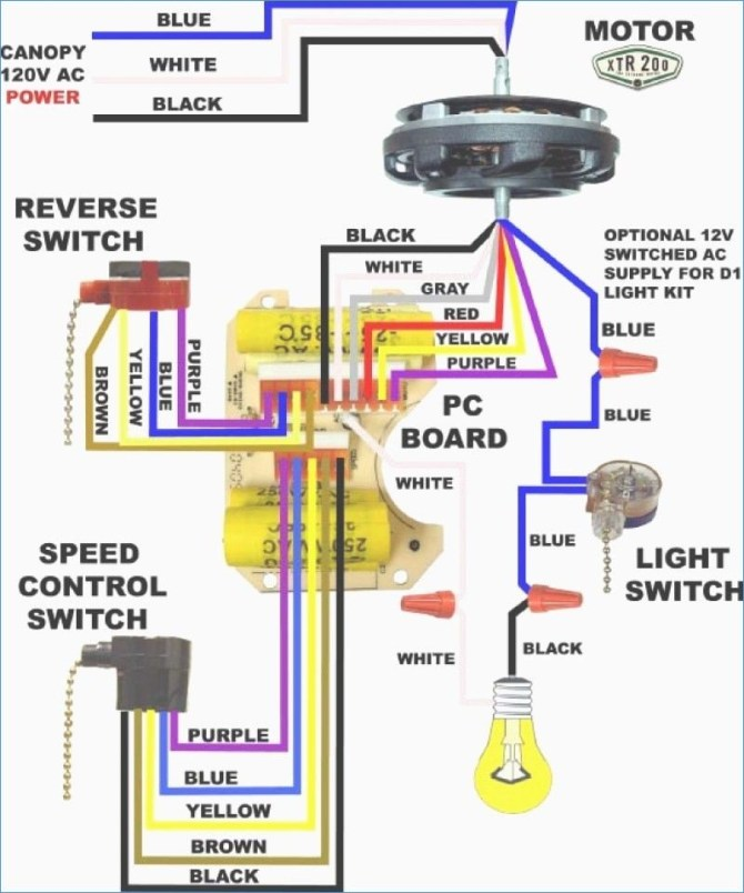 hampton bay motor wiring diagram  wiring diagram overview