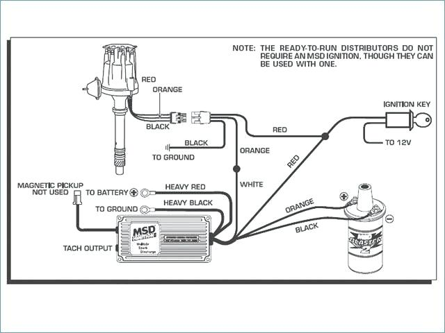 2wire distributor wiring diagram msd 6al connected to  rv