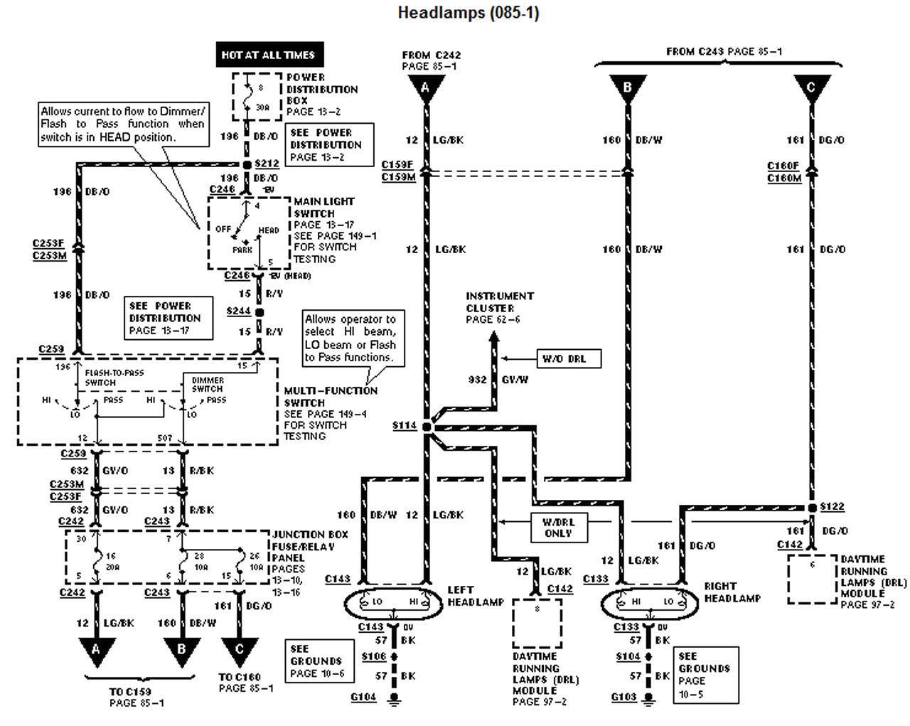 Ge Ford Map Sensor Wiring Diagram Free Diagram