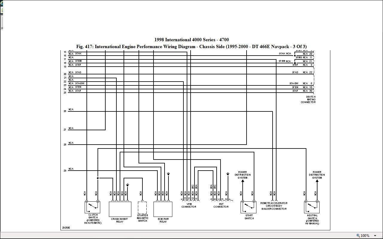 International Durastar Wiring Diagrams