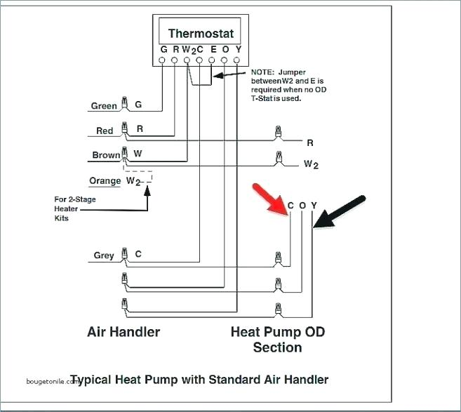 gy4068 heat pump thermostat wiring diagram also lennox