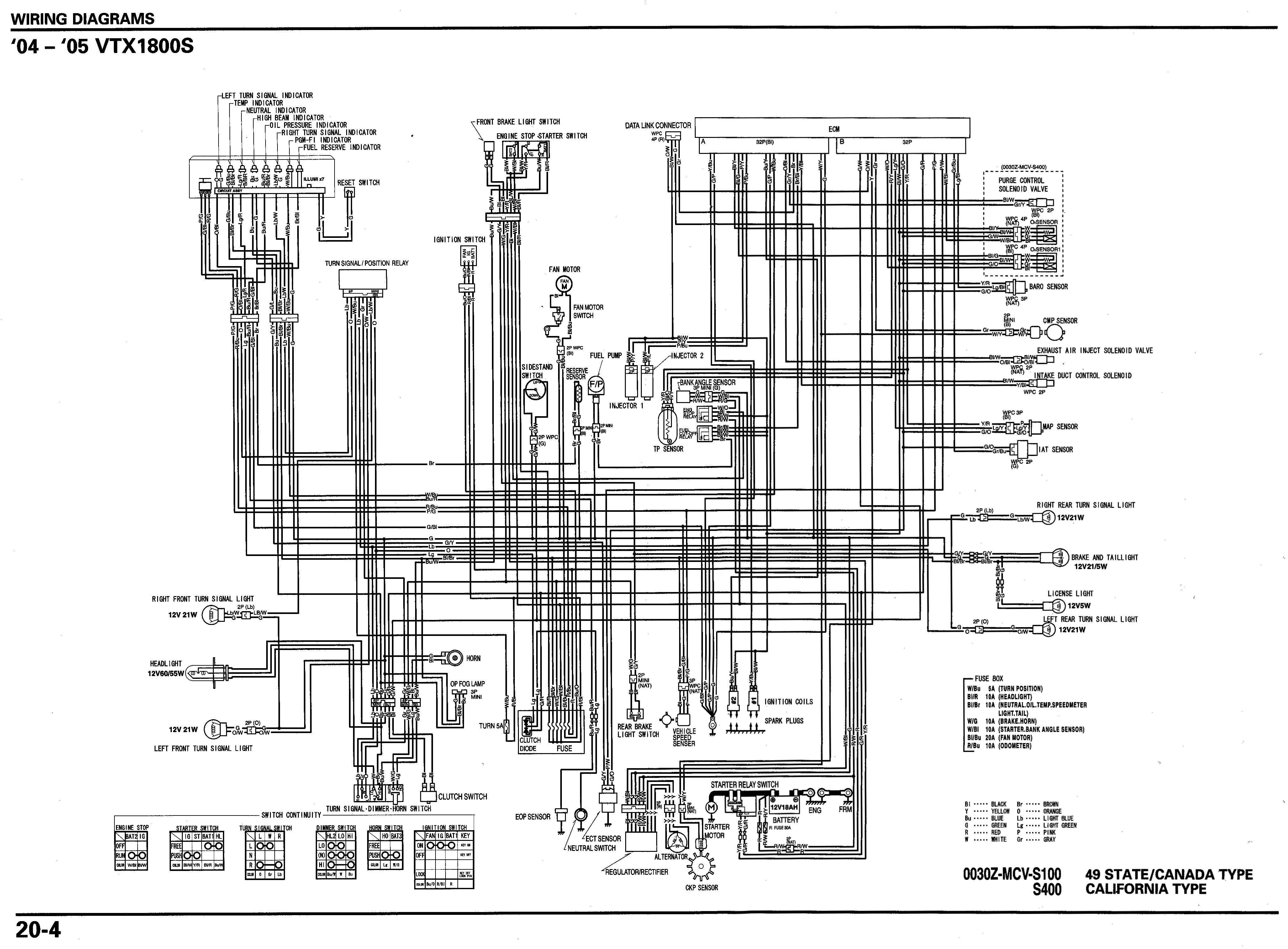 Honda Vtx Wiring Diagram