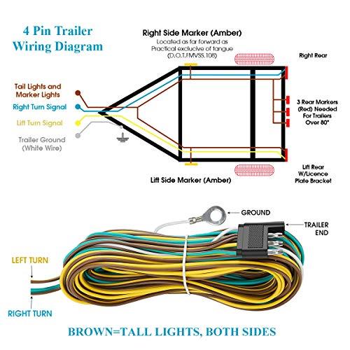 vf1723 trailer lights wiring diagram 4 wire wiring diagram