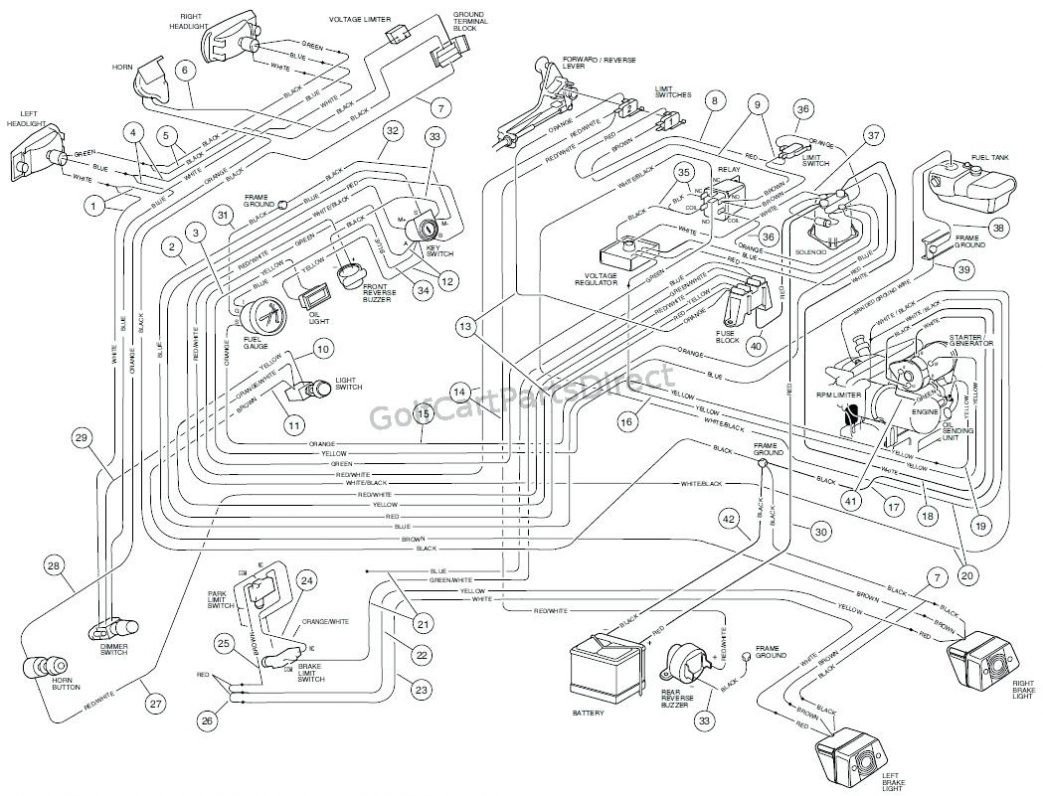 Club Car Ds 48v Wiring Diagram