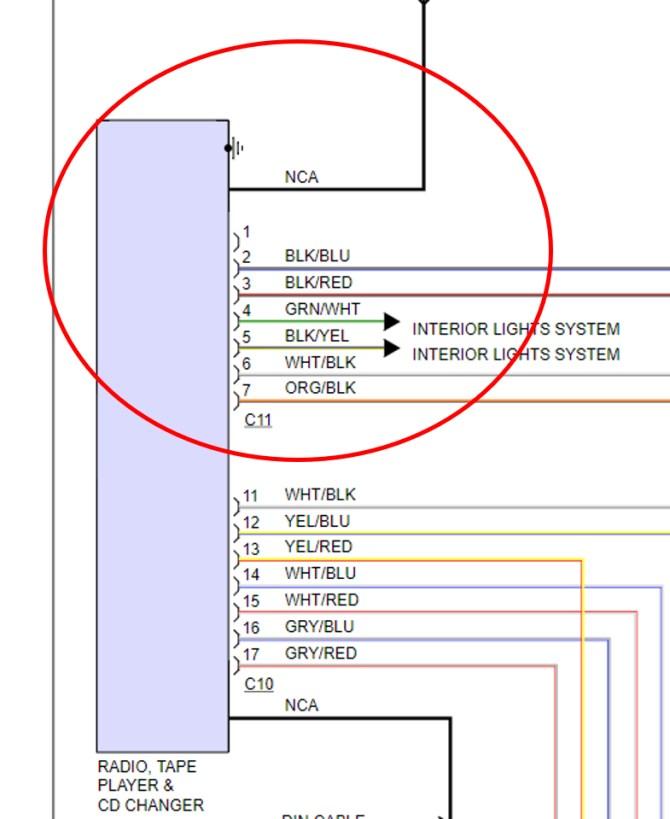 car stereo wiring diagram 2004 chrysler sebring  e