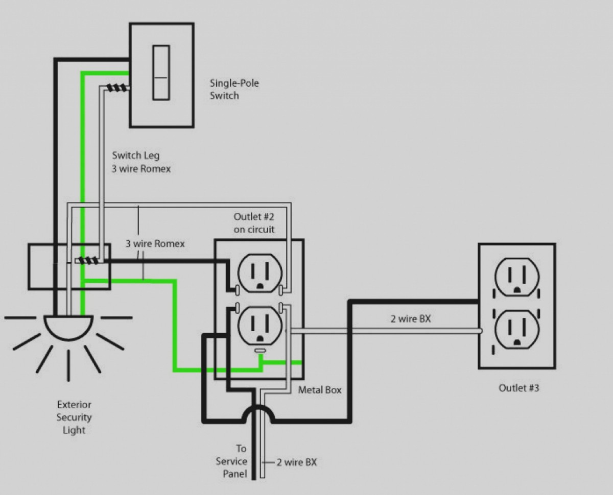 House Lighting Wiring Diagram