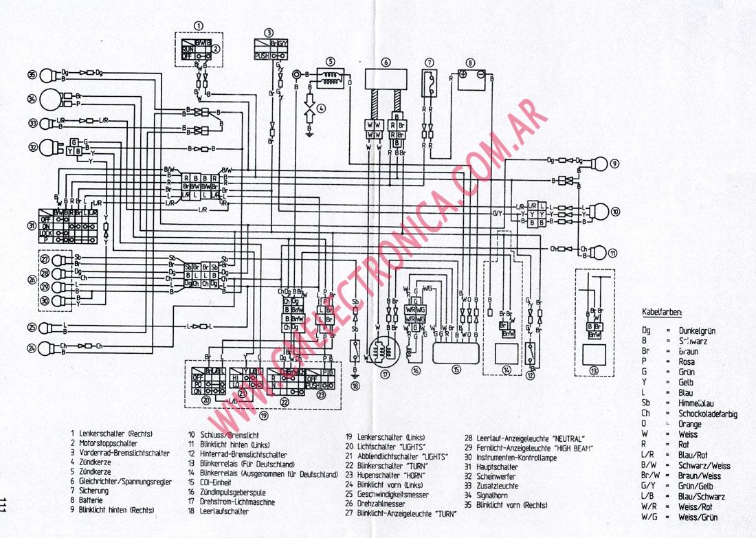 99 Yamaha Grizzly 600 Wiring Diagram