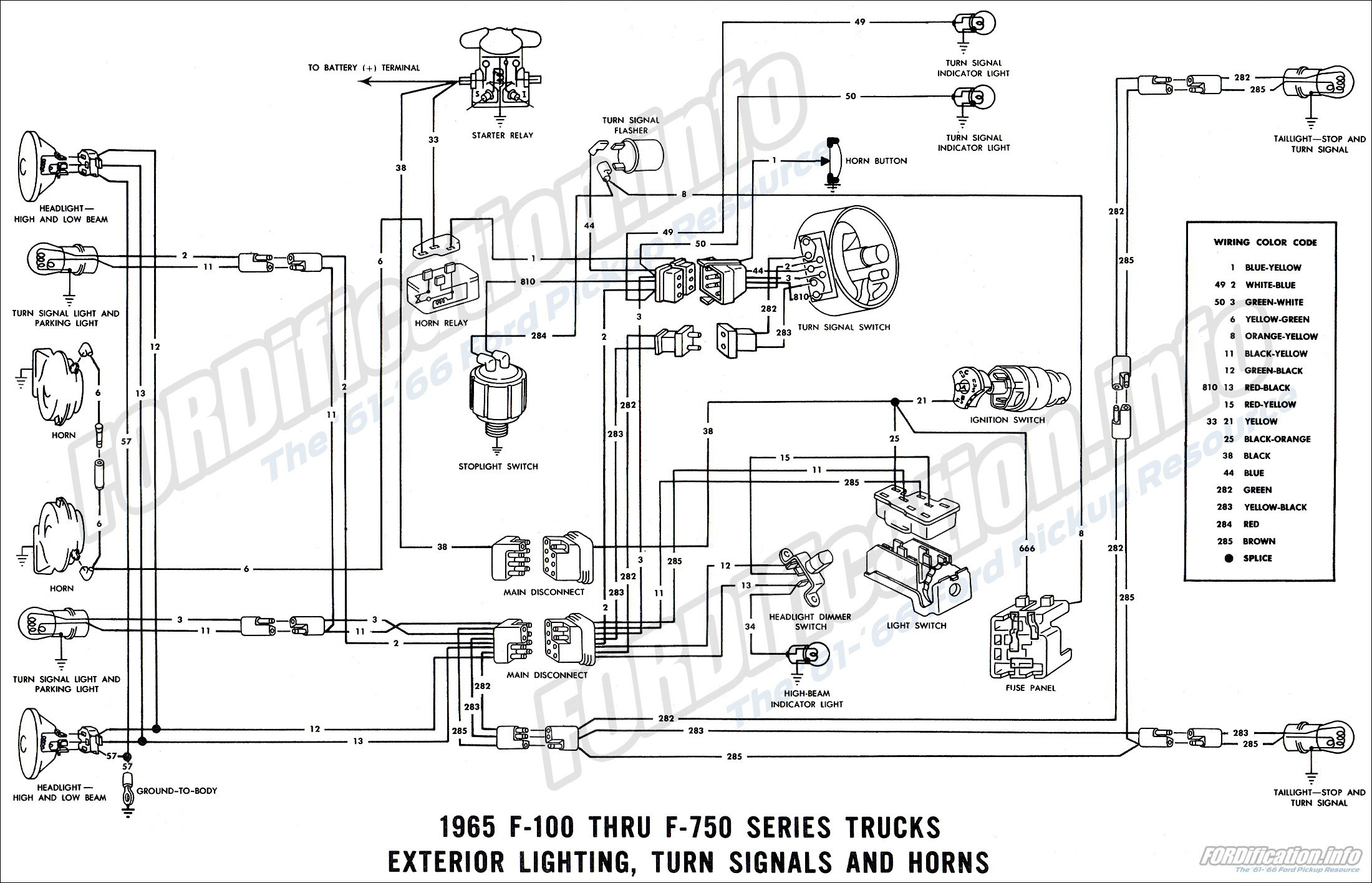 66 Chevy Truck Turn Signal Wiring Diagram