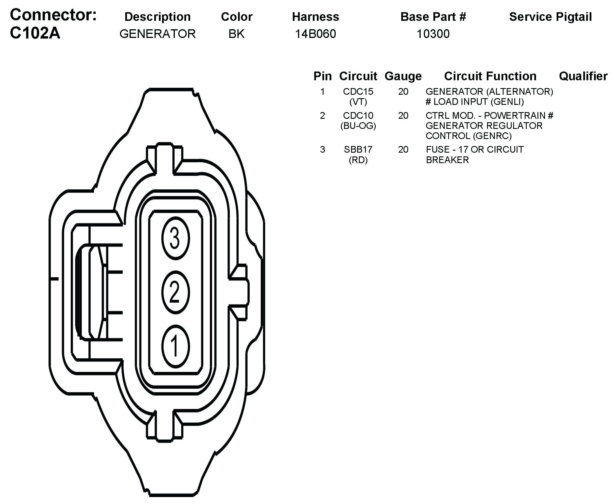 Wiring Diagram For 1 Wire Gm Alternator