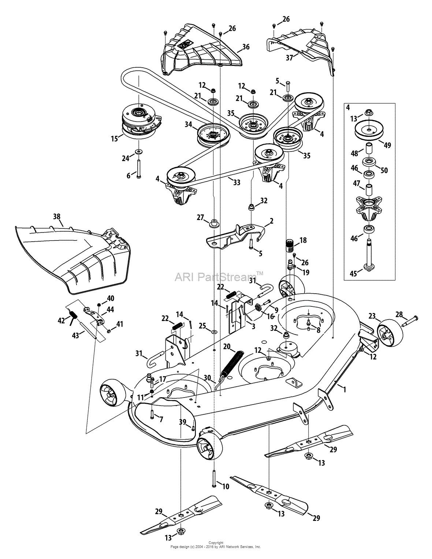 Sr Troy Bilt Pony Mower Deck Belt Diagram Also With