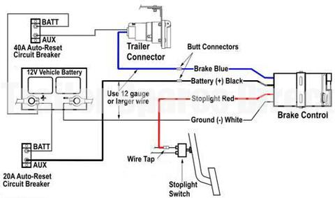 reese trailer brake controller wiring diagram  93 honda