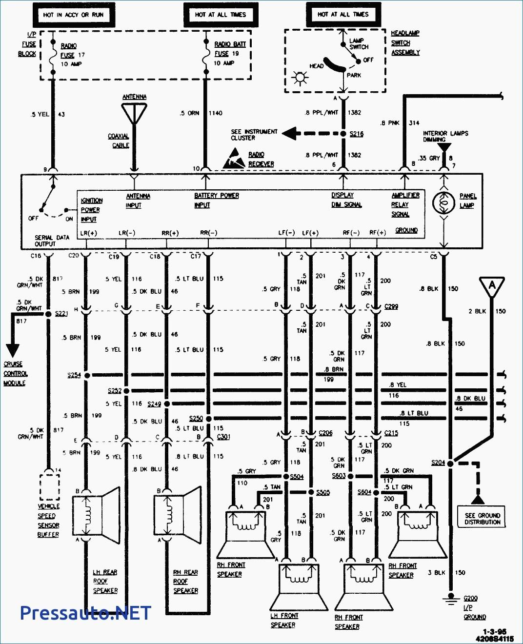 95 Chevy Lumina Radio Wiring Diagram