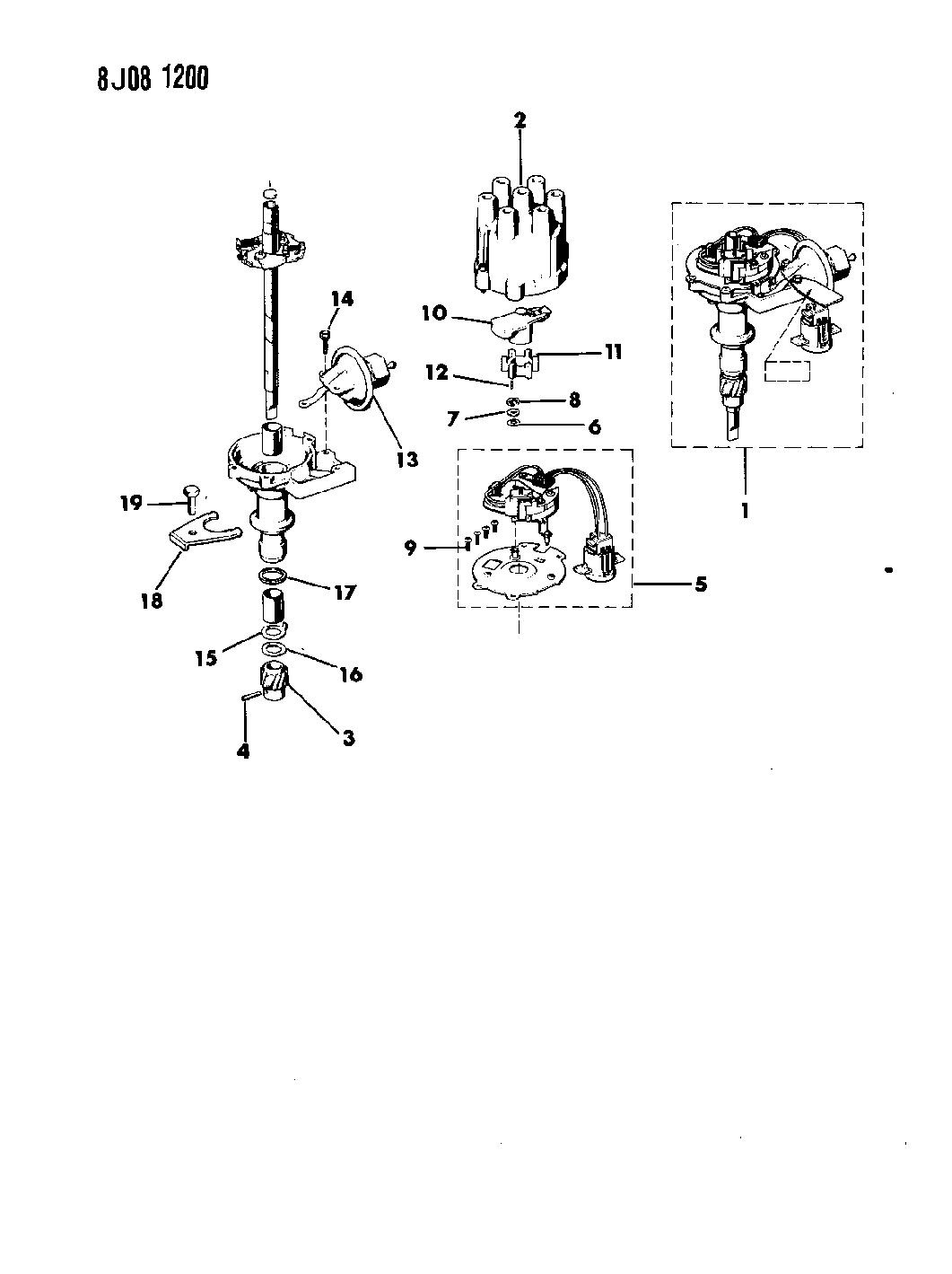 Zg Jeep Distributor Parts Diagram Download Diagram