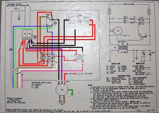yd6929 frigidaire air handler wiring diagrams schematic wiring