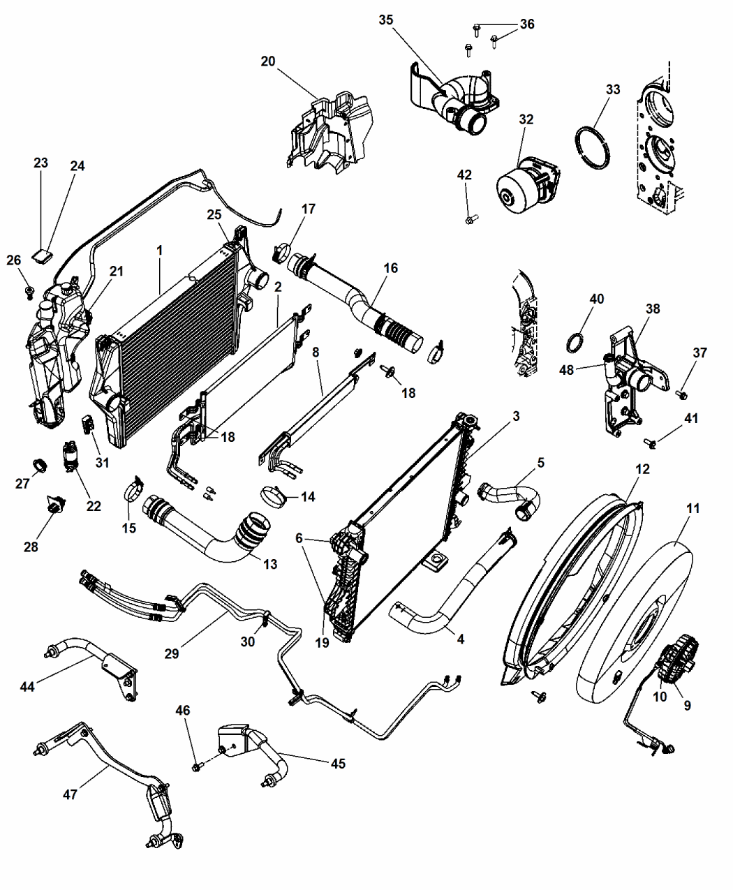Dd Dodge Grand Caravan Cooling System Diagram