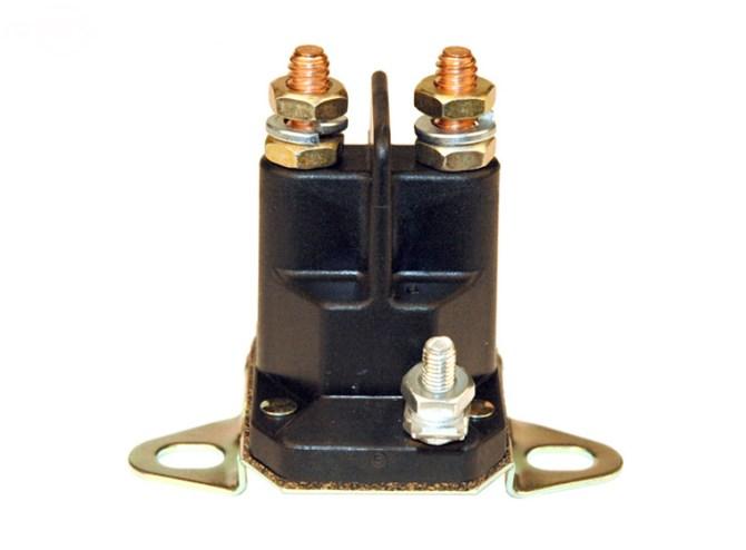 3 pole solenoid wiring diagram lawn mower ge appliance