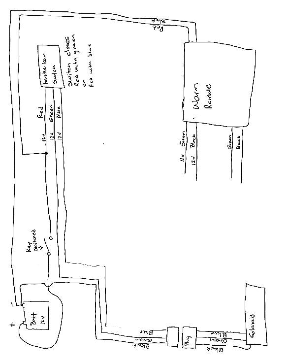ct3146 pin atv warn winch wiring diagram http www