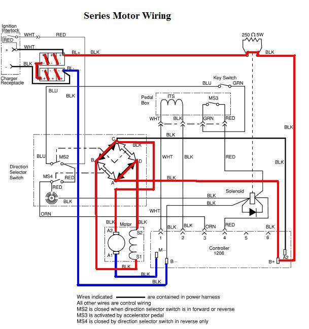 ez go golf cart 48v wiring diagram  2000 buick lesabre fuse