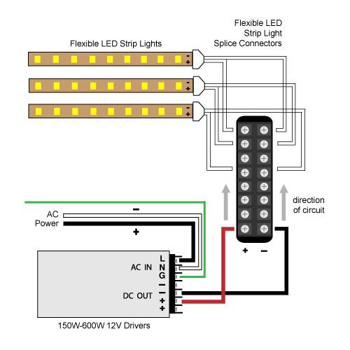 zw6567 white balance led strip lighting wiring diagrams