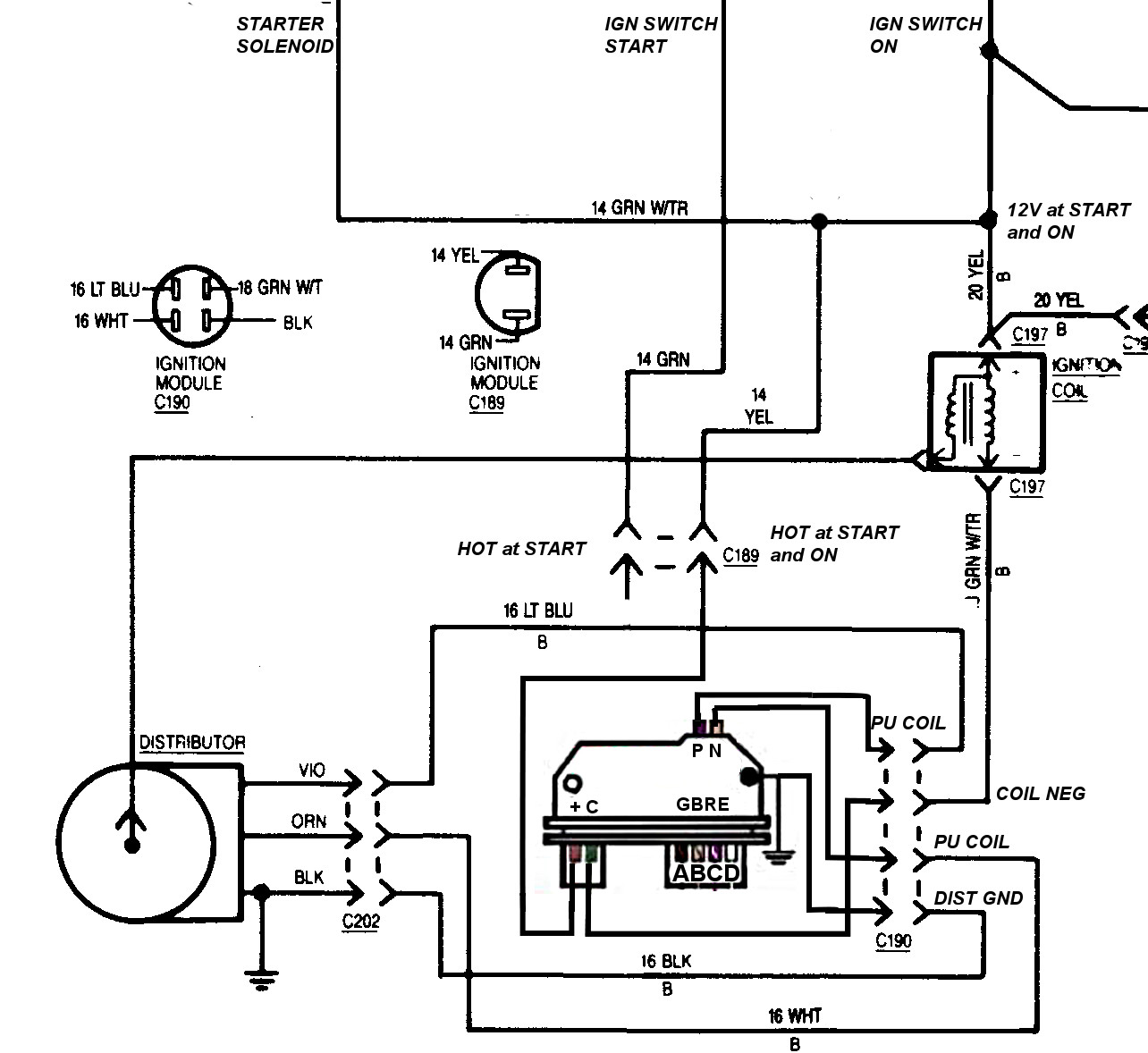 Kc 4 3 Chevy Tbi Ecm Wiring Diagram Schematic Wiring