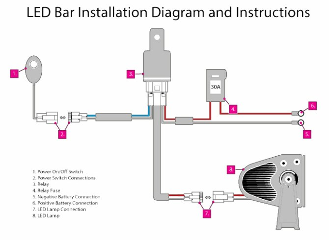 led wiring diagram multiple lights on a motorcycle  04 f350