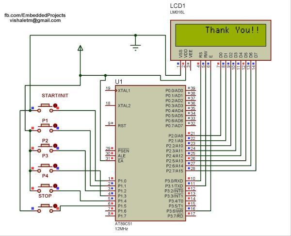 Or 6726 Multiple Alarm Clock Schematic