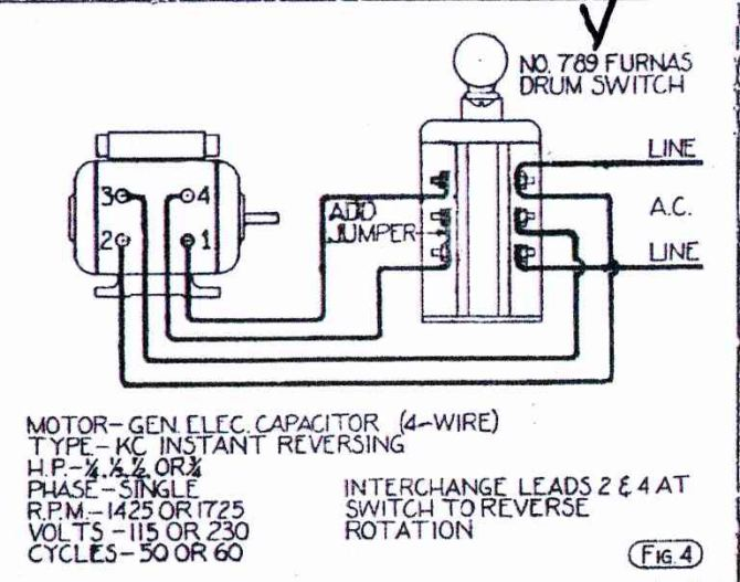 gl4005 forward reverse motor wiring diagram wiring diagram