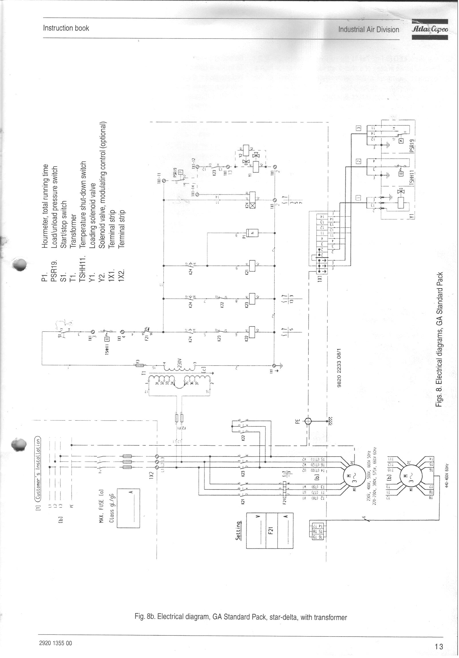 Ee Atlas Copco Wiring Schematic Free Diagram