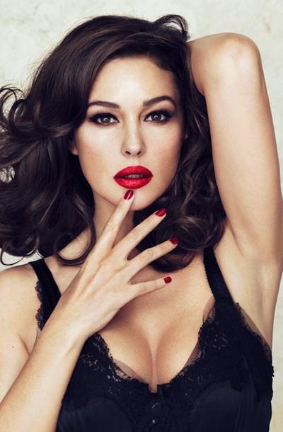 monica1 Monica Bellucci Names Her Entire Dolce & Gabbana Lipstick Collaboration After Herself
