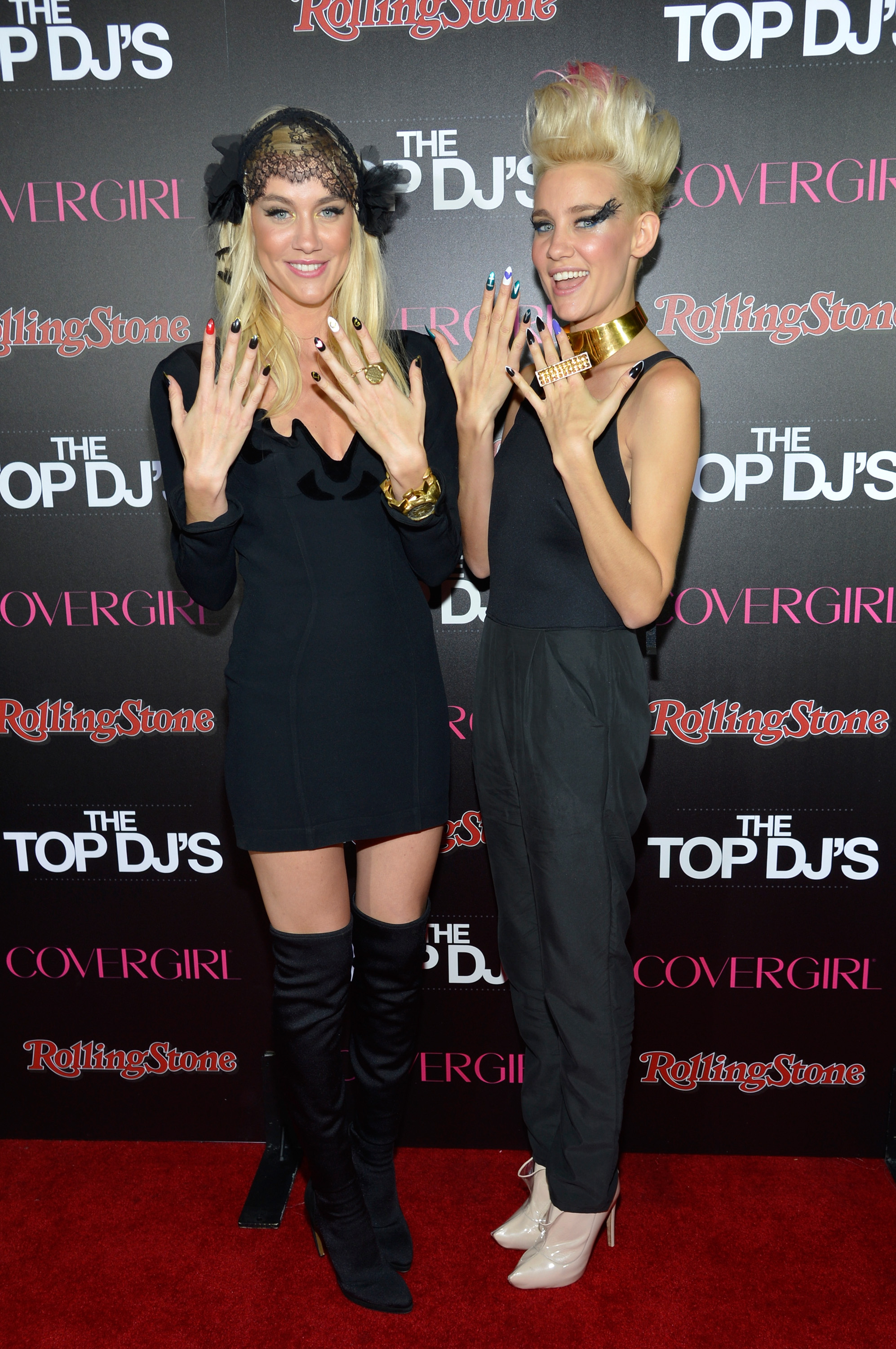nervo at the covergirl rolling stone party Get to Know the Aussie DJ Duo Nervo, the Latest CoverGirls