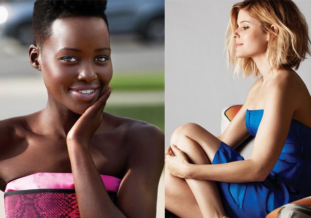 Lupita Nyong'o and Kate Mara
