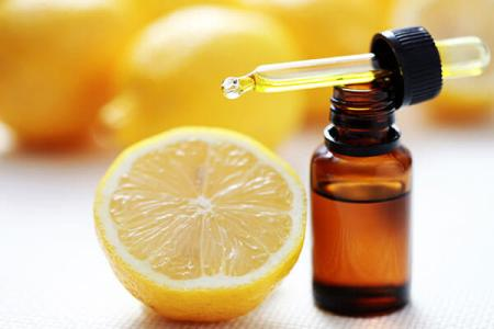 Apply Lemon and Almond Oil: pink lips home remedy