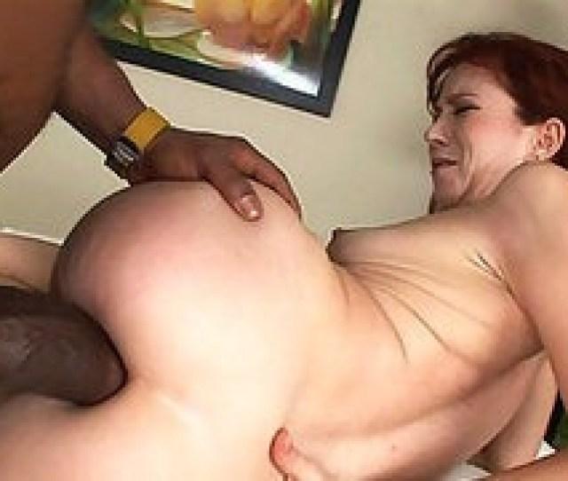 Big Black Anaconda Making This Redhead Milf Suffer