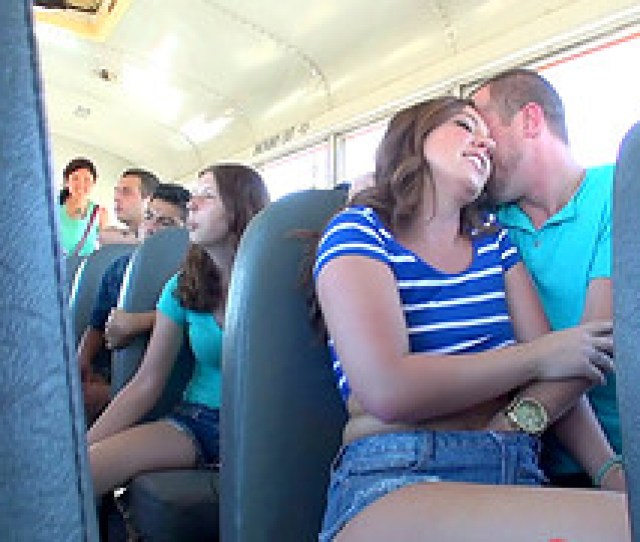 During A Long Bus Ride This Couple Fucks While Everyone Watches