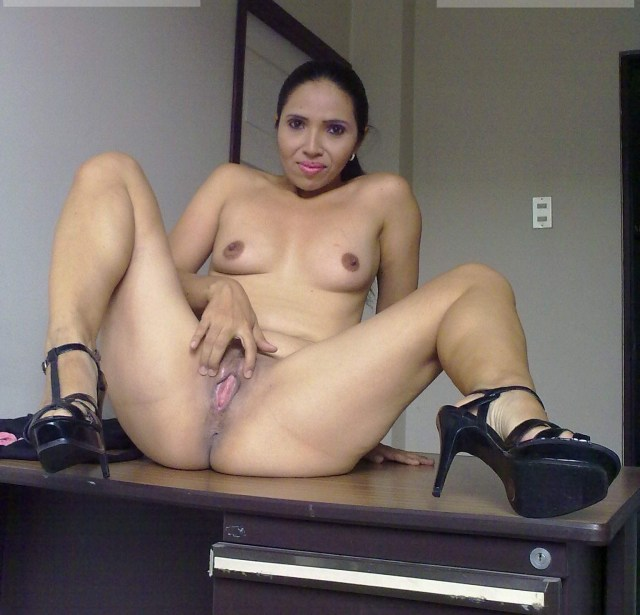 Mexican Milf Showing It All Porn Photo