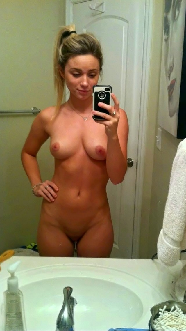 Bathroom Nude Selfie