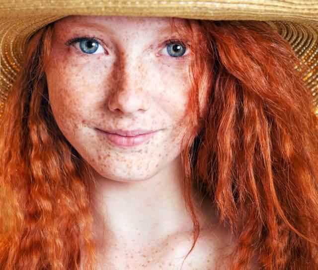 Freckle Faced Blue Eyed Redhead Porn Photo